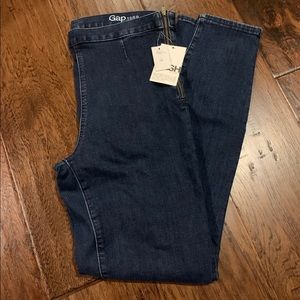 GAP Side Zip Legging Jean Size 31 Tall NWT